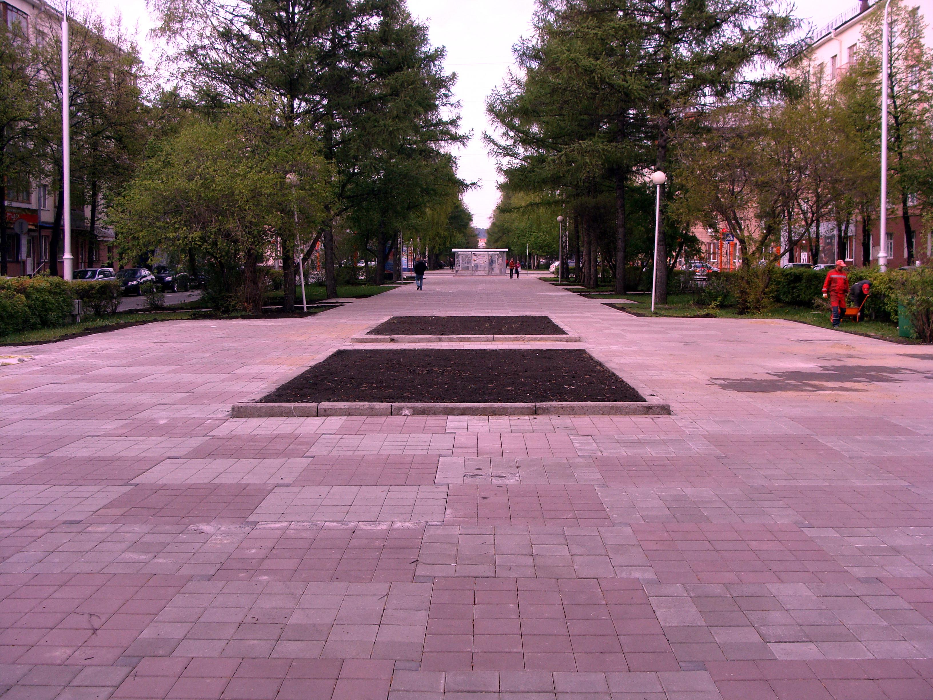 Тротуарная плитка г.Белово ООО СибТСК
