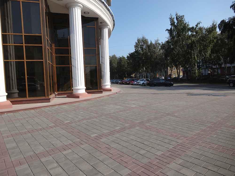 Тротуарная плитка пр-т Советский ООО СибТСК